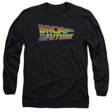 Long Sleeve: Back To The Future - Logo T-shirts