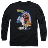 Long Sleeve: Back To The Future II - Poster T-shirts