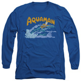 Long Sleeve: Aquaman - Aqua Swim T-Shirt