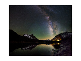Milky Way Above Tioga Lake, Yosemite National Park, California Prints