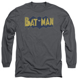 Long Sleeve: Batman - Vintage Logo Splatter T-shirts