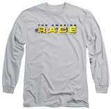 Long Sleeve: Amazing Race - Running Logo Shirt