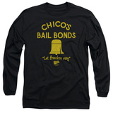 Long Sleeve: Bad News Bears - Chico's Bail Bonds T-Shirt
