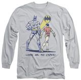 Long Sleeve: Batman - No Capes T-shirts