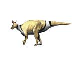 Lambeosaurus Dinosaur Prints