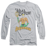 Long Sleeve: Aquaman - Real Catch Long Sleeves