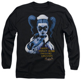Long Sleeve: Batman Arkham Asylum - Arkham Harley Quinn Long Sleeves