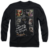 Long Sleeve: Batman Arkham Asylum - Running The Asylum T-Shirt