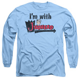 Long Sleeve: Archie Comics - I'm With Jughead Shirt
