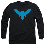Long Sleeve: Batman - Nightwing Symbol Long Sleeves