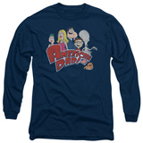 Long Sleeve: American Dad - Family Logo T-shirts