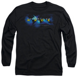 Long Sleeve: Amazing Race - Faded Globe Shirts