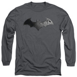 Long Sleeve: Batman Arkham City - Bat Logo Long Sleeves
