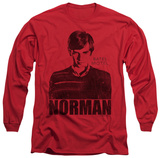 Long Sleeve: Bates Motel - Norman T-Shirt