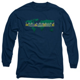 Long Sleeve: Amazing Race - Around The World T-Shirt