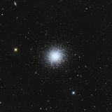 Messier 13, the Great Globular Cluster in Hercules Photographic Print