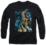 Long Sleeve: Aquaman - Aquaman No.1 T-shirts