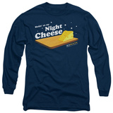 Long Sleeve: 30 Rock - Night Cheese T-Shirt