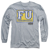 Long Sleeve: Animal House - Faber University Shirt