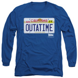 Long Sleeve: Back To The Future - Outatime Plate Long Sleeves