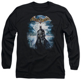 Long Sleeve: Batman Arkham Asylum - Game Cover T-Shirt