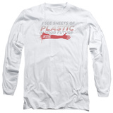 Long Sleeve: Dexter - Plastic Prediction Shirt