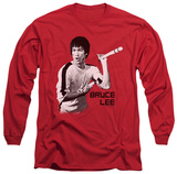 Long Sleeve: Bruce Lee - Nunchucks Shirt
