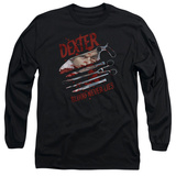 Long Sleeve: Dexter - Blood Never Lies T-shirts