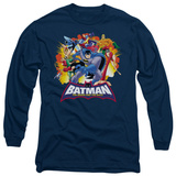 Long Sleeve: Batman The Brave and the Bold - Explosive Heroes T-Shirt