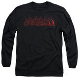 Long Sleeve: Batman Beyond - Neo Gotham Skyline Shirts