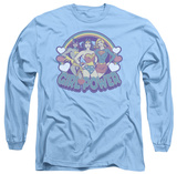 Long Sleeve: DC Comics - Retro Girl Power T-shirts