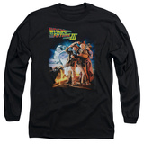Long Sleeve: Back To The Future III - Poster Shirts