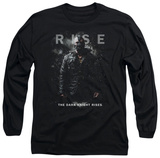 Long Sleeve: Dark Knight Rises - Bane Rise T-Shirt