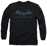 Long Sleeve: Batman Arkham Origins - Logo T-Shirt