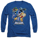 Long Sleeve: Batman The Brave and the Bold - Burst Into Action T-shirts