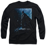 Long Sleeve: Dark Knight Rises - Batman Poster T-shirts