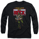 Long Sleeve: DC Comics - Sgt Rock Long Sleeves