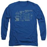Long Sleeve: Batman - Batmobile T-shirts