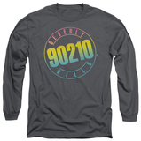 Long Sleeve: Beverly Hills 90210 - Color Blend Logo T-shirts