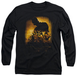 Long Sleeve: Batman Begins - Bats T-shirts