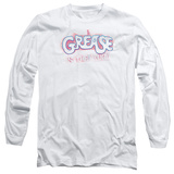 Long Sleeve: Grease - Grease Is The Word T-Shirt