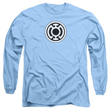 Long Sleeve: Green Lantern - Blue Lantern Logo Long Sleeves