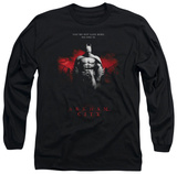 Long Sleeve: Batman Arkham City - Standing Strong T-Shirt