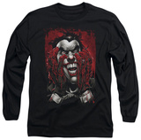 Long Sleeve: Batman - Blood In Hands T-Shirt