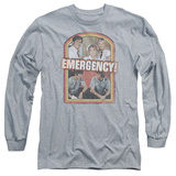 Long Sleeve: Emergency - Retro Cast T-Shirt
