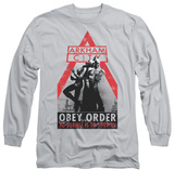 Long Sleeve: Batman Arkham City - Obey Order T-shirts
