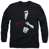 Long Sleeve: Bruce Lee - The Dragon Awaits T-Shirt