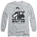 Long Sleeve: Elvis Presley - The King Of T-shirts