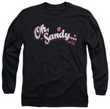Long Sleeve: Grease - Oh Sandy T-Shirt