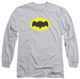 Long Sleeve: Batman Classic TV - Chest Logo Shirt